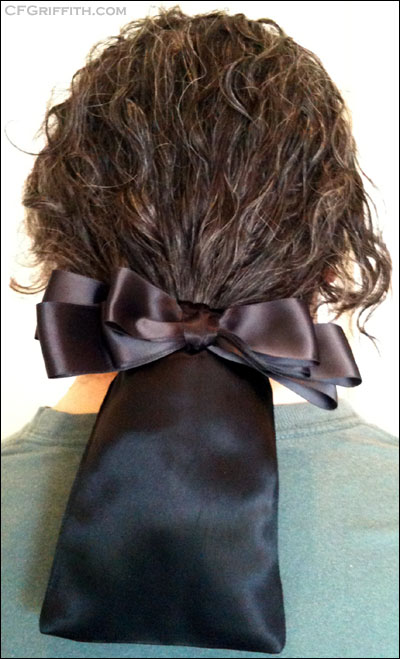 bagwig style bourse hair accessory