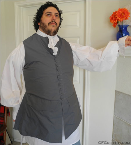 18th century waistcoat