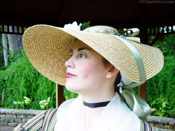 18th century bergère hat