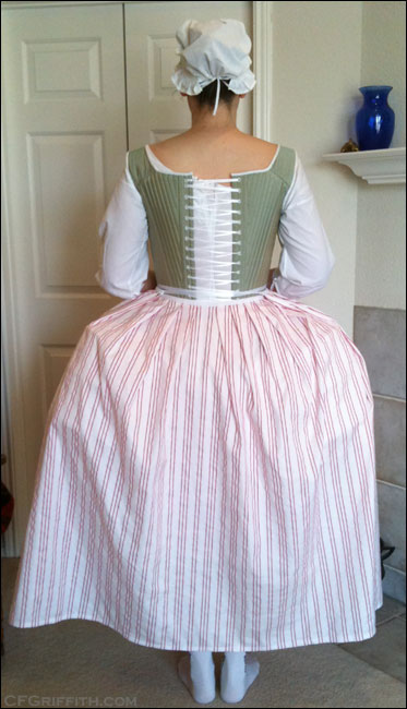 18th century petticoat